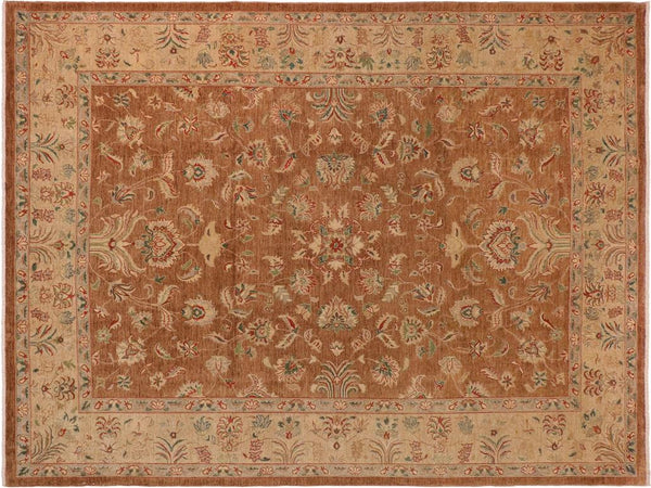 "A01187, 9'11"" X 13' 5"",Traditional                   ,10' x 14',Taupe,TAN,Hand-knotted                  ,Pakistan   ,100% Wool  ,Rectangle  ,652671132933"