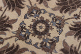 "A11914 9'11"" X  9'11""Traditional                   10x10'NaturalBROWNHand-knotted                  Pakistan   100% Wool  Round      652671216442"