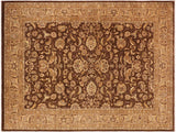 "A01216, 9'11"" X 12'11"",Transitional                  ,10' x 14',Brown,LT. BROWN,Hand-knotted                  ,Pakistan   ,100% Wool  ,Rectangle  ,652671133206"