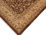 "A01218, 9' 9"" X 13'10"",Geometric                     ,10 x 14,Brown,TAN,Hand-Knotted Rug                 ,Pakistan   ,100% Wool  ,Rectangle  ,652671133220"