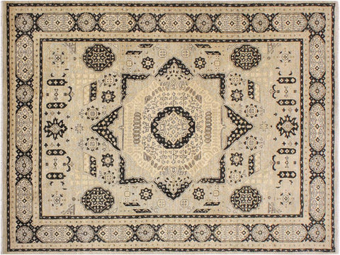 handmade Geometric Mamluk Gray Black Hand Knotted RECTANGLE 100% WOOL area rug 9 x12 Hand knotted indoor mamluk wool area rug made for all rooms with high quality wool in rich color pallet handmade by skilled artisans in geometric, tribal design with center medallion is known for quality wool and affordable price. Oriental hand made rug offered at cheap discount for any decor one of a kind Mamluk Rug