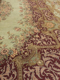 "A01242,10 0"" X 14 0"",Traditional                   ,10x14,Green,RED,Hand-knotted                  ,Pakistan   ,100% Wool  ,Rectangle  ,652671133466"