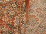 "A01276,10' 1"" X 13'10"",Traditional                   ,10' x 14',Rust,TAN,Hand-knotted                  ,Pakistan   ,100% Wool  ,Rectangle  ,652671133794"