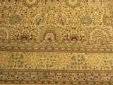 "A01280,10 2"" X 14 3"",Traditional                   ,10x14,Gold,GOLD,Hand-knotted                  ,Pakistan   ,100% Wool  ,Rectangle  ,652671133831"