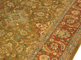 "A01284, 911"" X 1311"",Traditional                   ,10x14,Gold,RUST,Hand-knotted                  ,Pakistan   ,100% Wool  ,Rectangle  ,652671133879"