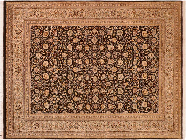 "A01300,10' 0"" X 14' 3"",Traditional                   ,10' x 14',Grey,GRAY,Hand-knotted                  ,Pakistan   ,100% Wool  ,Rectangle  ,652671134036"