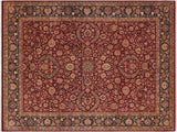"A01388, 9' 1"" X 12' 3"",Traditional                   ,9' x 12',Purple,BLUE,Hand-knotted                  ,Pakistan   ,100% Wool  ,Rectangle  ,652671134883"