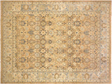 "A01403, 8'10"" X 12' 2"",Transitional                  ,9' x 12',Taupe,LT. BLUE,Hand-knotted                  ,Pakistan   ,100% Wool  ,Rectangle  ,652671135033"