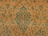 handmade Traditional Veg Dye Brown Green Hand Knotted RECTANGLE 100% WOOL area rug 9x12 Hand knotted indoor Pak Persian vegetable dyed area rug made for all rooms with high quality New Zealand wool in rich color pallet weaved by skilled artisans in traditional transitional design known for quality and affordable price. Oriental rug offered at cheap discount for any decor, with Persian weave(KPSI upto 300)