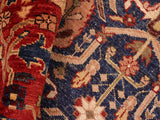 "A01436, 8' 4"" X 10' 1"",Transitional                  ,8' x 10',Blue,RED,Hand-knotted                  ,Pakistan   ,100% Wool  ,Rectangle  ,652671135361"