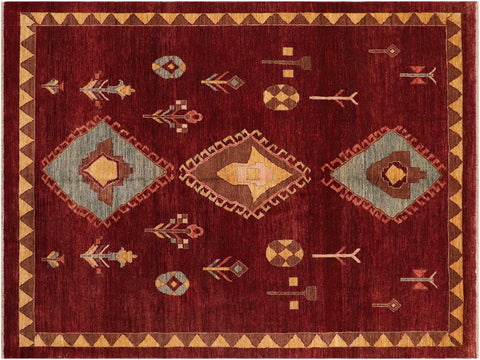 Modern hand knotted Gabbeh handmade with finest quality wool in all vegtable dyes features beautiful color pallet Hand knotted indoor Gabbeh wool area rug made for all rooms with high quality wool in rich color pallet handmade by skilled artisans in geometric, modern, tribal, contemporary design are known for high quality wool and affordable price. Oriental rug offered at cheap discount for any decor one of a kind area rugs