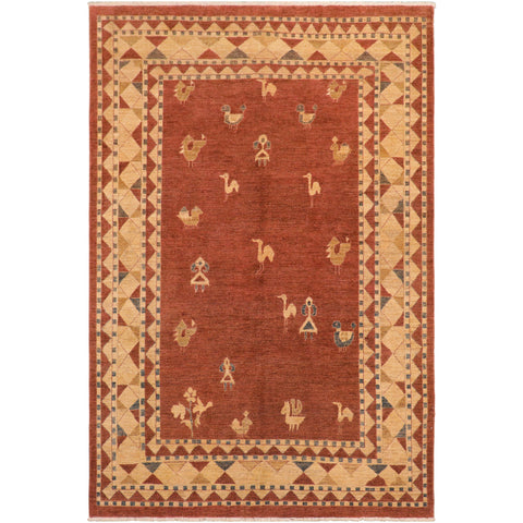 "A01449, 7' 8"" X  9'11"",Modern                        ,8' x 10',Taupe,TAN,Hand-knotted                  ,Pakistan   ,100% Wool  ,Rectangle  ,652671135484"