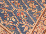 "A01492, 8' 0"" X 10' 0"",Transitional                  ,8' x 10',Blue,TAN,Hand-knotted                  ,Pakistan   ,100% Wool  ,Rectangle  ,652671135910"