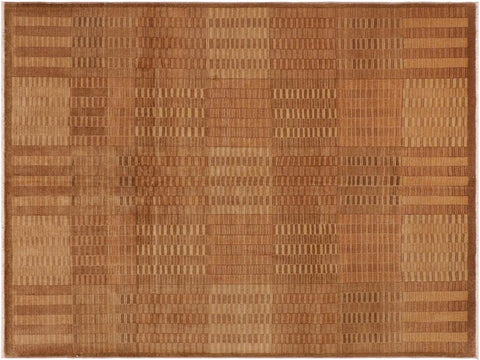 "A01497, 8' 2"" X  9'10"",Modern                        ,8' x 10',Taupe,LT. TAN,Hand-knotted                  ,Pakistan   ,100% Wool  ,Rectangle  ,652671135965"