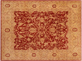"A01500, 8' 0"" X  9'10"",Traditional                   ,8' x 10',Red,RUST,Hand-knotted                  ,Pakistan   ,100% Wool  ,Rectangle  ,652671135996"