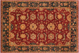 "A01529, 9' 2"" X 11'11"",Transitional                  ,9' x 12',Burgundy,DRK.GREEN,Hand-knotted                  ,Pakistan   ,100% Wool  ,Rectangle  ,652671136283"