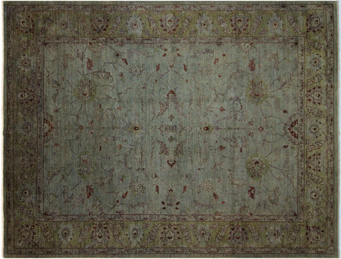 "A01531, 9' 0"" X 11' 5"",Over Dyed  ,9' x 12',Grey,GRAY,Hand-knotted                  ,Pakistan   ,100% Wool  ,Rectangle  ,652671136306"