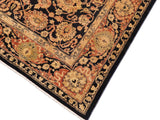 "A01561, 8' 5"" X 10' 6"",Traditional,8' x 10',Blue,RUST,Hand-knotted                  ,Pakistan   ,100% Wool  ,Rectangle  ,652671136580"