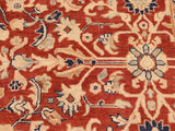 "A01566, 8 0"" X  9 5"",Traditional                   ,8x10,Red,IVORY,Hand-knotted                  ,Pakistan   ,100% Wool  ,Rectangle  ,652671136634"