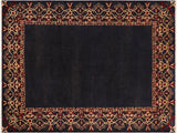 "A01570, 8' 3"" X  9'10"",Modern     ,8x10,BLUE,BLUE,Hand Knotted                  ,Pakistan   ,100% Wool  ,Rectangle"