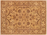 "A01571, 8' 1"" X 10' 0"",Traditional,8' x 10',Tan,TAN,Hand-knotted                  ,Pakistan   ,100% Wool  ,Rectangle  ,652671136689"