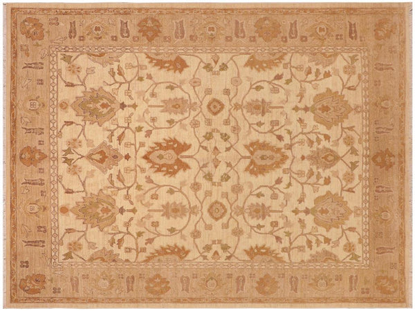 "A01590, 8' 0"" X 10' 0"",Traditional,8' x 10',Natural,TAN,Hand-knotted                  ,Pakistan   ,100% Wool  ,Rectangle  ,652671136870"