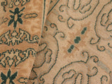 "A01596, 8' 2"" X  9'11"",Transitional                  ,8' x 10',Beige,BROWN,Hand-knotted                  ,Pakistan   ,100% Wool  ,Rectangle  ,652671136924"