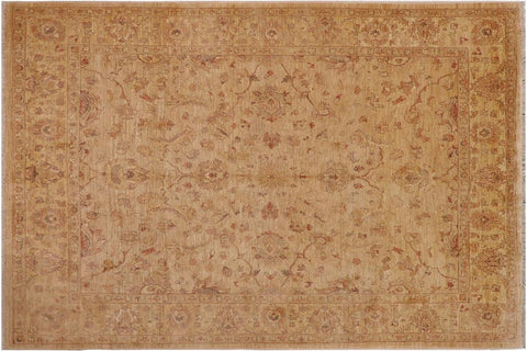 "A01597, 8' 2"" X 10' 6"",Traditional,8' x 10',Tan,TAN,Hand-knotted                  ,Pakistan   ,100% Wool  ,Rectangle  ,652671136931"