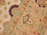 "A01601, 8 3"" X 10 2"",Traditional                   ,8x10,Natural,TAN,Hand-knotted                  ,Pakistan   ,100% Wool  ,Rectangle  ,652671136979"