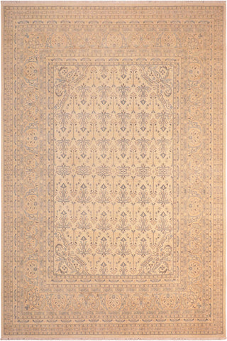 "A01602  8' 3"" X  9'11"" Transitional 8x10 IVORY ROSE Hand Knotted                   Pakistan    100% Wool   Rectangle"