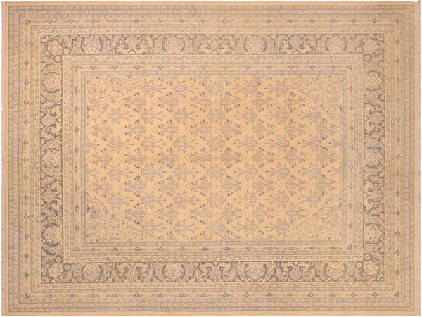 "A01603, 8' 2"" X  9' 9"",Transitiona,8' x 10',Pink,GREEN,Hand-knotted                  ,Pakistan   ,100% Wool  ,Rectangle  ,652671136993"