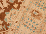 "A01605, 8' 0"" X  9'10"",Transitional                  ,8' x 10',Brown,IVORY,Hand-knotted                  ,Pakistan   ,100% Wool  ,Rectangle  ,652671137013"