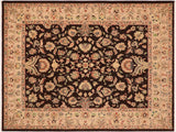 "A01616, 8' 2"" X  9' 9"",Traditional,8' x 10',Brown,TAN,Hand-knotted                  ,Pakistan   ,100% Wool  ,Rectangle  ,652671137112"