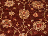 "A01630, 8' 2"" X  9' 7"",Transitional                  ,8' x 10',Brown,IVORY,Hand-knotted                  ,Pakistan   ,100% Wool  ,Rectangle  ,652671137259"