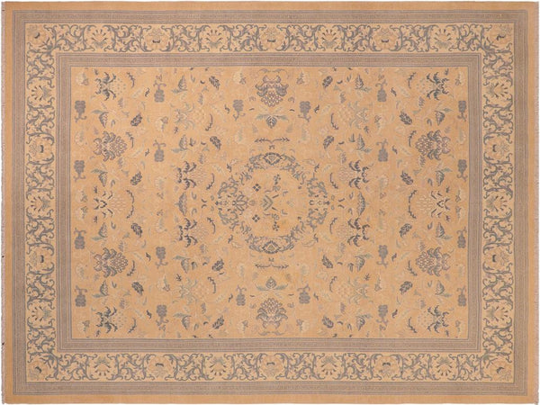 "A01636, 8' 3"" X  9'11"",Traditional,8' x 10',Camel,LT. TAN,Hand-knotted                  ,Pakistan   ,100% Wool  ,Rectangle  ,652671137310"