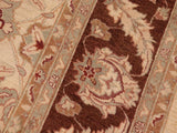 "A01648, 8' 1"" X  9' 5"",Transitional                  ,8' x 10',Natural,BROWN,Hand-knotted                  ,Pakistan   ,100% Wool  ,Rectangle  ,652671137433"