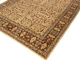 "A01684, 8'10"" X 12' 6"",Traditional                   ,9' x 12',Natural,BROWN,Hand-knotted                  ,Pakistan   ,100% Wool  ,Rectangle  ,652671137761"