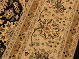 "A01759, 9 0"" X 11 9"",Traditional                   ,9x12,Brown,TAN,Hand-knotted                  ,Pakistan   ,100% Wool  ,Rectangle  ,652671138508"