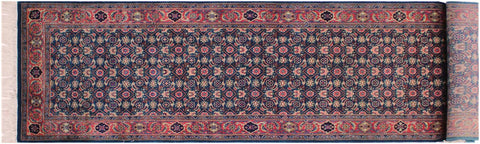 "A01853, 2' 6"" X 10' 1"",Traditional                   ,3' x 10',Teal,GREEN,Hand-knotted                  ,Pakistan   ,100% Wool  ,Runner     ,652671139420"