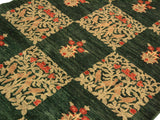 "A01997, 3'10"" X  5'11"",Modern                        ,4' x 6',Green,TAN,Hand-knotted                  ,Pakistan   ,100% Wool  ,Rectangle  ,652671140853"