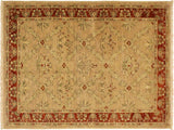 "A02000, 4' 1"" X  5' 9"",Transitional                  ,4' x 6',Tan,RUST,Hand-knotted                  ,Pakistan   ,100% Wool  ,Rectangle  ,652671140884"