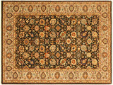 "A02016, 4' 3"" X  6' 2"",Traditional                   ,4' x 6',Brown,LT. TAN,Hand-knotted                  ,Pakistan   ,100% Wool  ,Rectangle  ,652671141041"