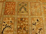 "A02031, 4' 2"" X  6' 0"",Traditional                   ,4' x 6',Tan,GOLD,Hand-knotted                  ,Pakistan   ,100% Wool  ,Rectangle  ,652671141195"