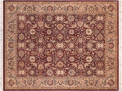 "A02074, 8' 2"" X 10' 2"",Traditional                   ,8' x 10',Purple,GRAY,Hand-knotted                  ,Pakistan   ,100% Wool  ,Rectangle  ,652671141591"