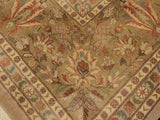 "A02164, 9' 2"" X 12' 3"",Traditional                   ,9' x 12',Tan,TAN,Hand-knotted                  ,Pakistan   ,100% Wool  ,Rectangle  ,652671142451"