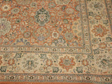 "A02177, 8'10"" X 12' 1"",Transitional                  ,9' x 12',Rust,TAN,Hand-knotted                  ,Pakistan   ,100% Wool  ,Rectangle  ,652671142581"