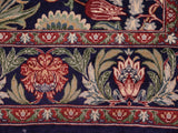 "A02237, 4' 7"" X  7' 1"",Traditional                   ,5' x 7',Blue,RED,Hand-knotted                  ,Pakistan   ,100% Wool  ,Rectangle  ,652671143151"