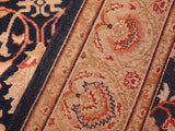 "A02243, 5' 3"" X  7' 4"",Traditional                   ,5' x 7',Blue,TAN,Hand-knotted                  ,Pakistan   ,100% Wool  ,Rectangle  ,652671143212"