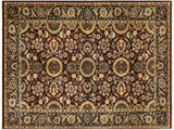 "A02259, 4' 7"" X  7' 3"",Traditional                   ,5' x 7',Purple,BLUE,Hand-knotted                  ,Pakistan   ,100% Wool  ,Rectangle  ,652671143359"