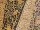"A02288, 4' 1"" X  6' 3"",Traditional                   ,4' x 6',Blue,LT. TAN,Hand-knotted                  ,Pakistan   ,100% Wool  ,Rectangle  ,652671143632"